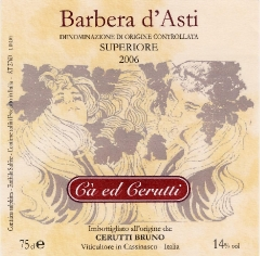 Production Barbera d'Asti Superiore